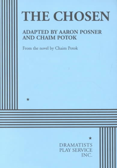 The Chosen By Posner, Aaron/ Potok, Chaim